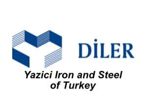 DiLER - Yazici Iron and Steel of Turkey Logo